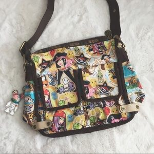 LeSportsac Tokidoki Pirata Messenger Bag